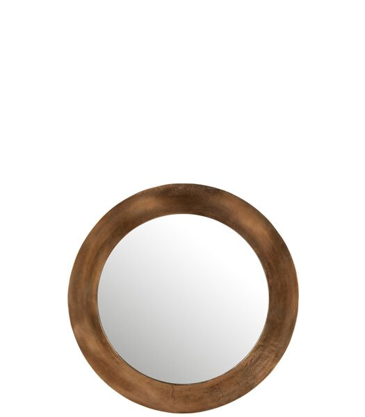 Miroir Rond Aluminium Rouille