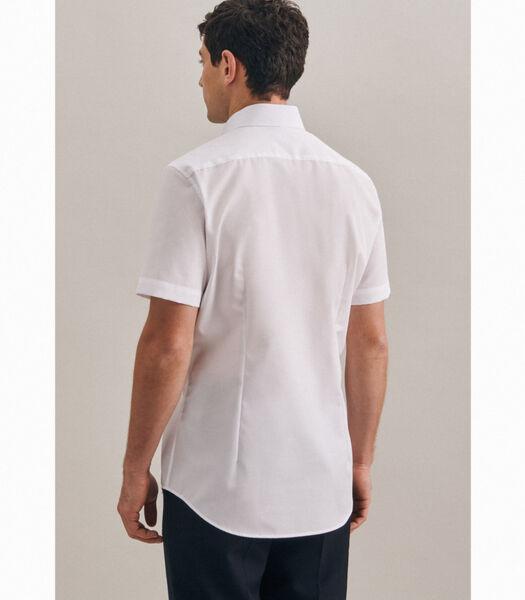 Overhemd Slim Fit Korte mouwen Uni