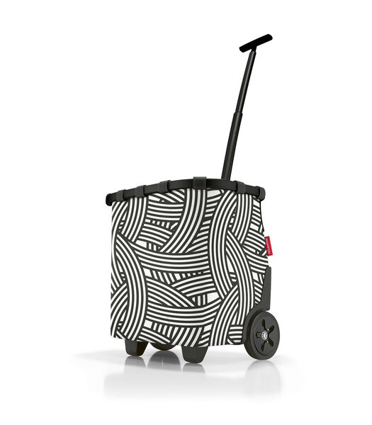 Carrycruiser - Boodschappentrolley - Zebra Zwart Wit