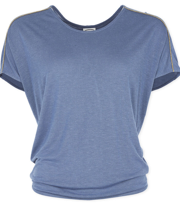 T-shirt ronde hals jersey TULIPE image number 3