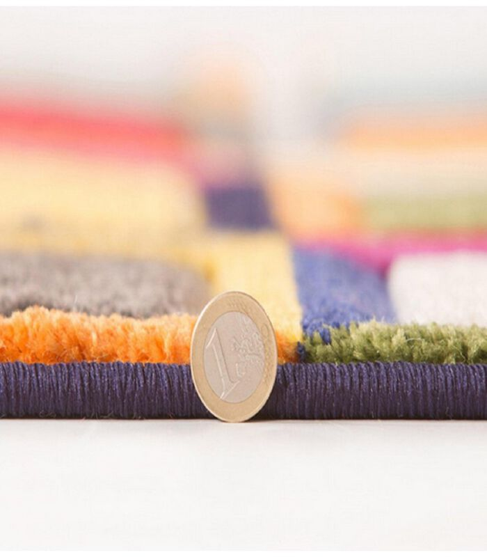 Designer en kleurrijk vloerkleed WHIRL image number 3