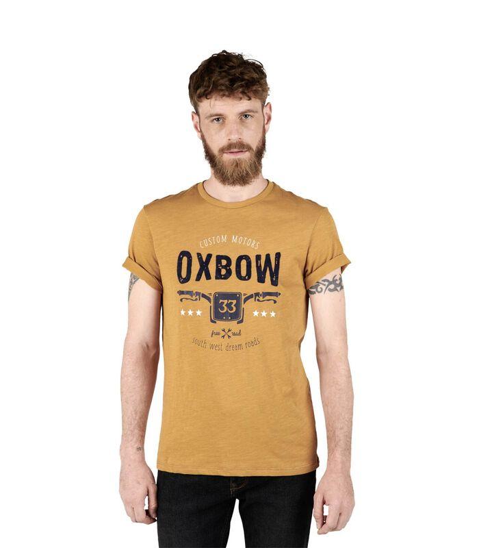 T-shirt met korte mouwen TUSTEM image number 2