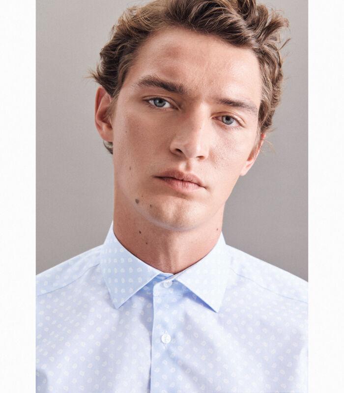 Overhemd Regular Fit Lange mouwen Print image number 3