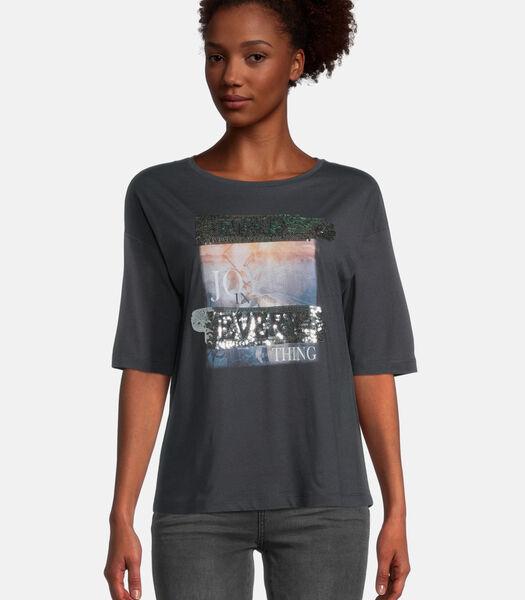 T-shirt à paillettes
