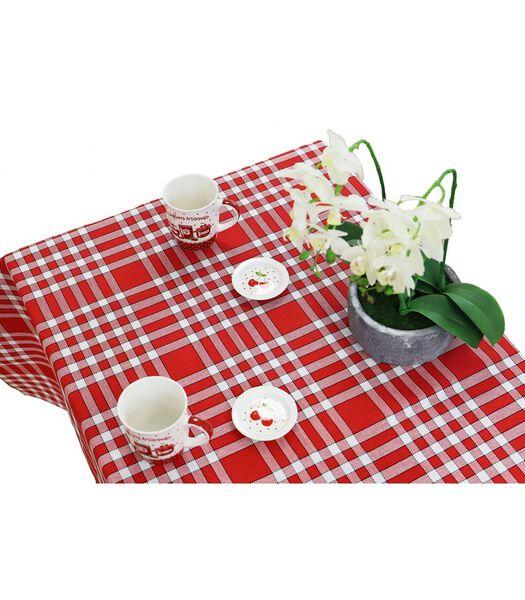 Geruit tafelkleed in katoen Normand NELLY