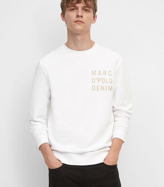 Sweat-shirt en molleton non gratté