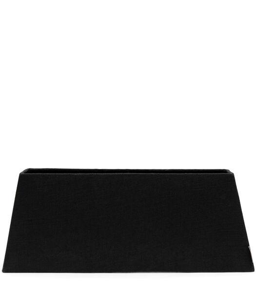 Abat-jour rectangulaire noir 15x60