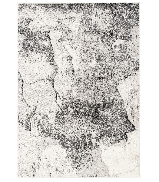 Tango - Tapis de designer - Aspect pierreux gris