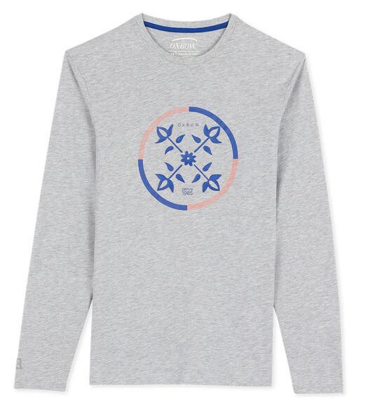 T-shirt met lange mouwen TCHISTO