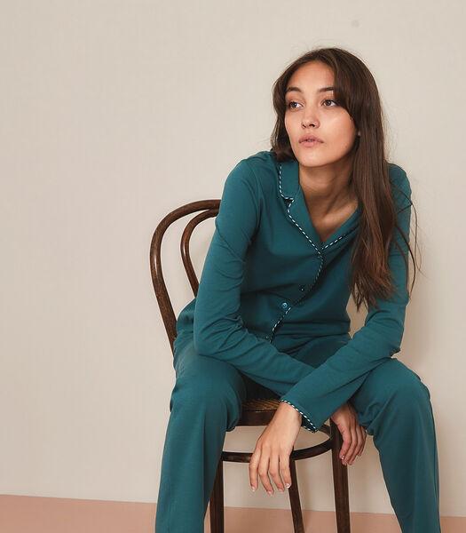 Sorbonne - Lange Pyjama  katoen