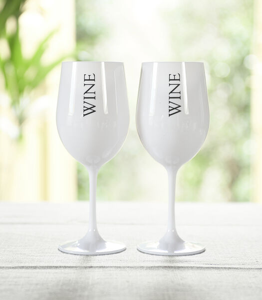 Summer Wine Glass