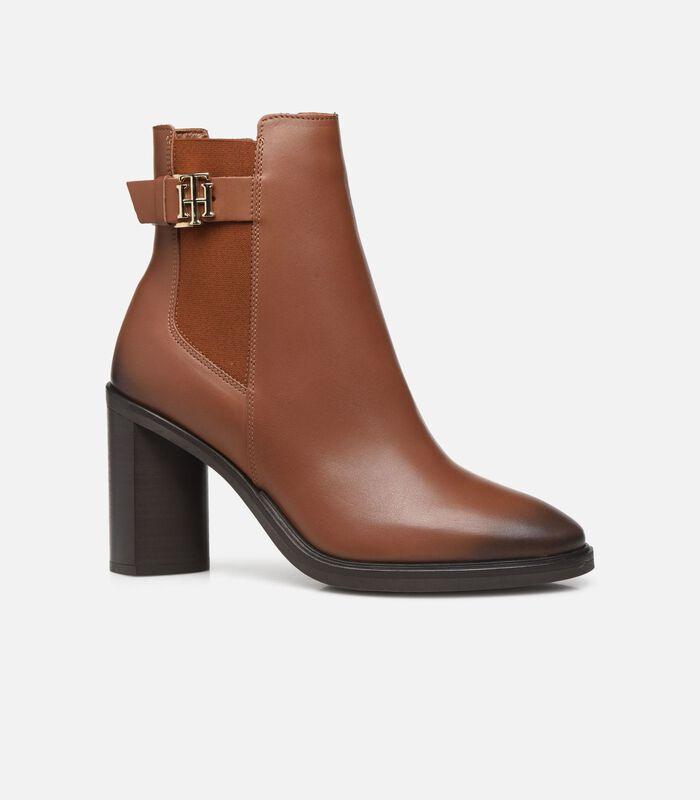 TH MONOGRAM HARDWARE HEEL BOOT Boots en enkellaarsjes image number 4