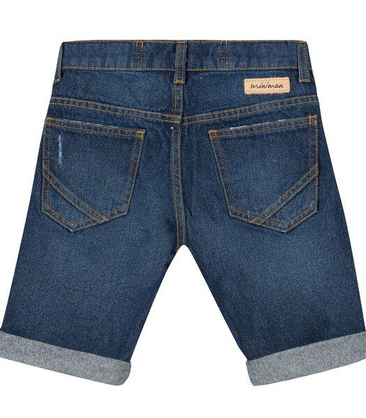Denim short forme 5 poches