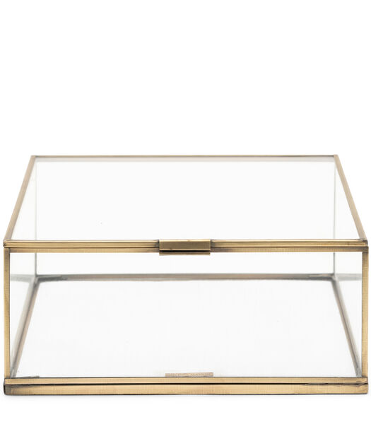 Provence French Glass Box 25x25