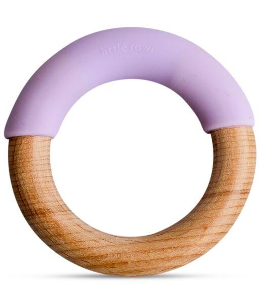 Bijtring van silicoon en hout