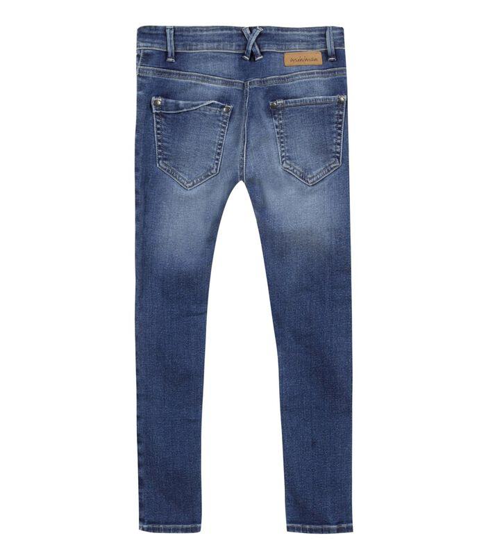 Vervaagde stretch slim jeans image number 1