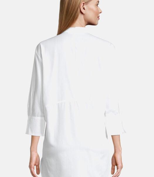 Lange blouse met 3/4-mouw