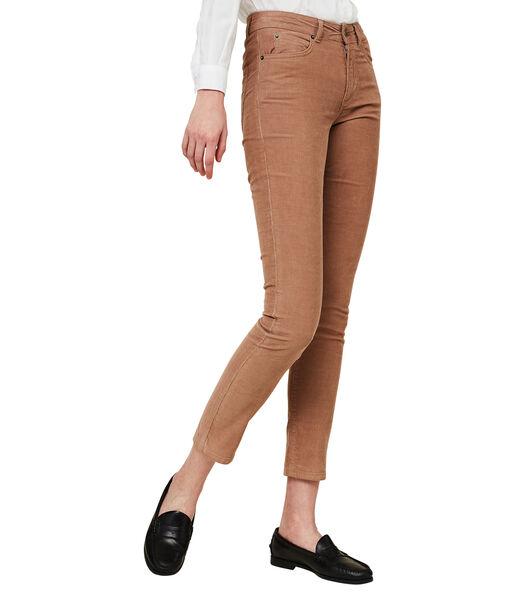 Pantalon en velours côtelé Zoe
