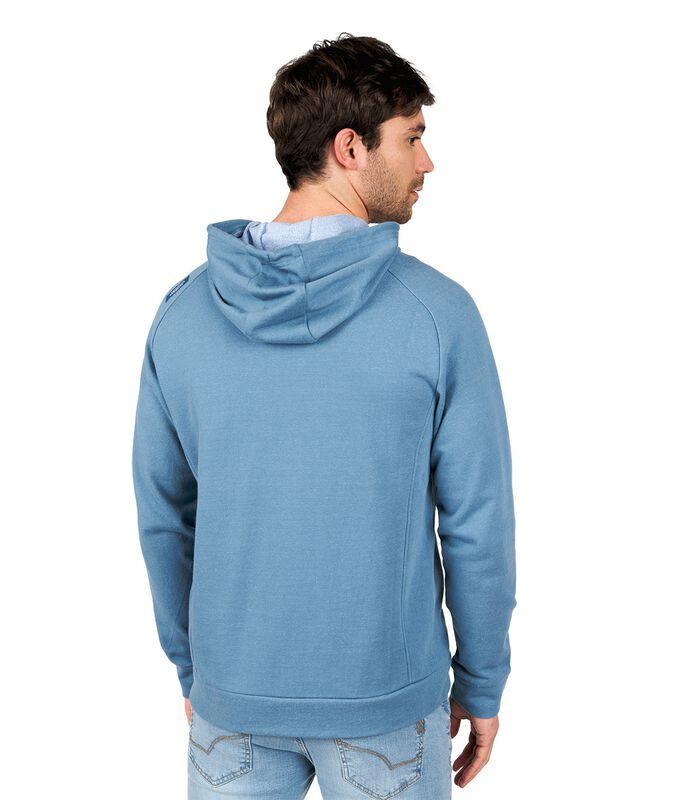 Sweater met kap en rits STARI image number 2