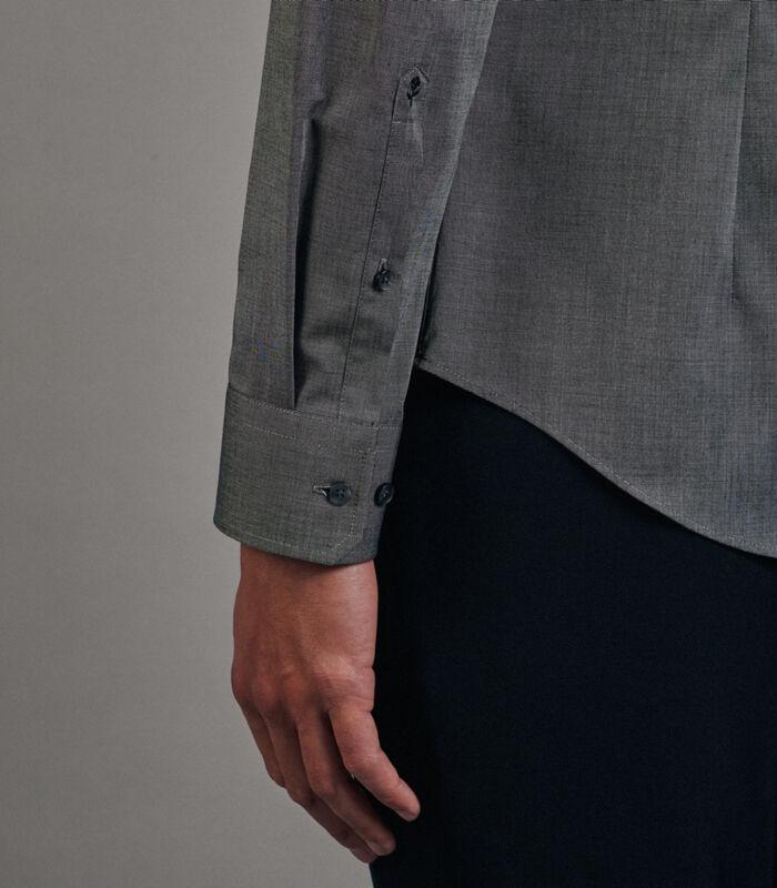 Overhemd Slim Fit Lange arm Uni image number 3