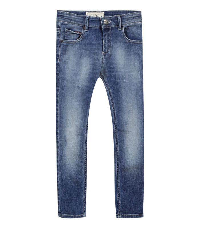 Vervaagde stretch slim jeans image number 0