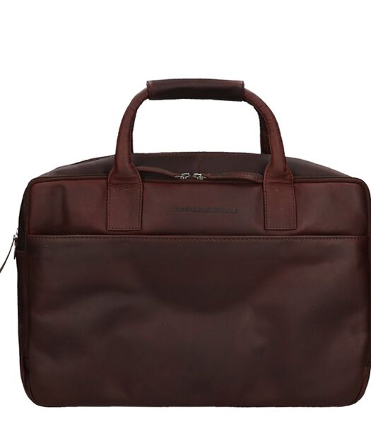 """The Chesterfield Brand Specials 17 """"Laptopbag marron"""