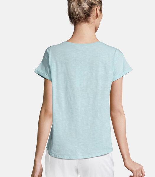Katoenen shirt met borduursel