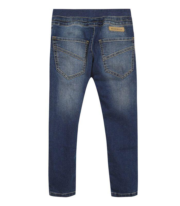 Jeans met elastische broekriem image number 1