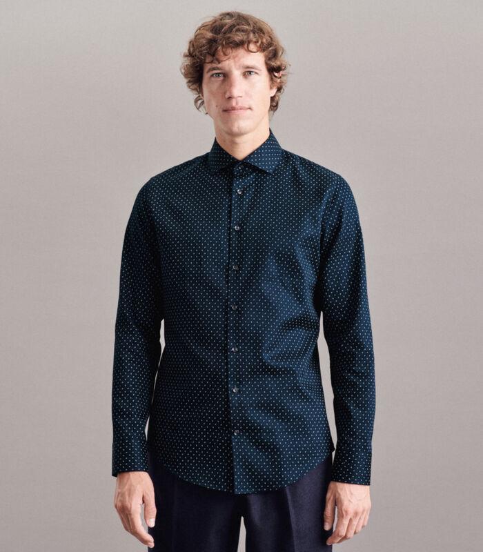 Overhemd Slim Fit Lange mouwen Print image number 0
