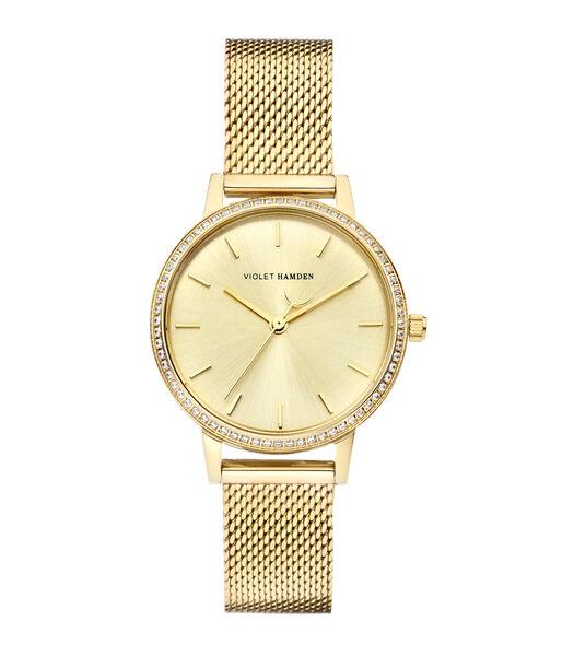 Sunrise Horloge goudkleurig VH07012