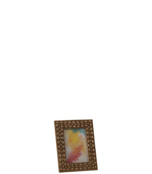 Cadre Photo Coquillage 10X15 Resine Beige Small