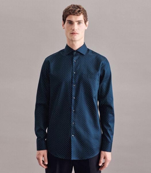 Overhemd Regular Fit Lange mouwen Print