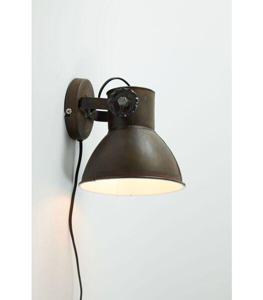 Wandlamp Elay - Roest