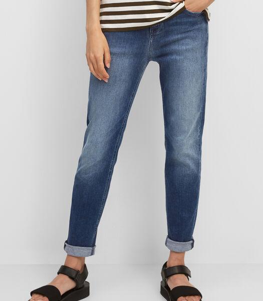 Jeans model FREJA boyfriend van een elastische katoenmix