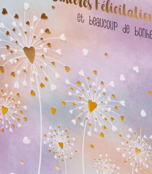 Dubbele kaart Sweetness ontworpen in België en