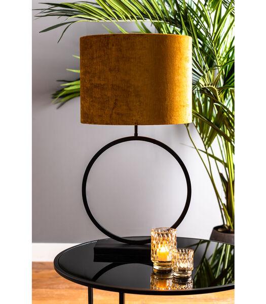 Lampvoet LIVA - mat zwart - M