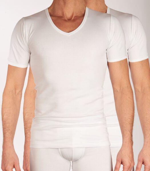 T-shirt v-hals 2 pack sensitive h-l