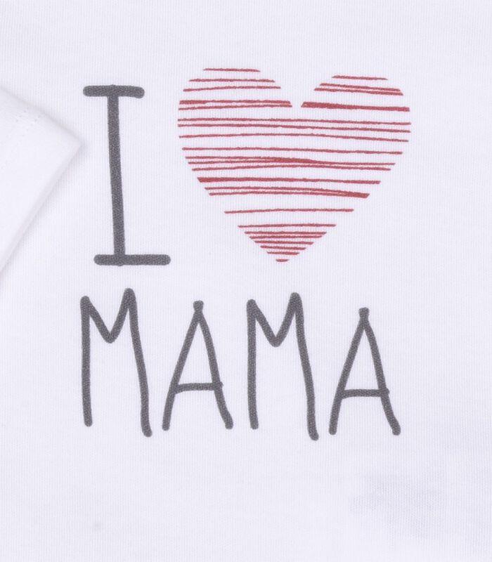 3-delige baby set, I LOVE MAMA image number 1