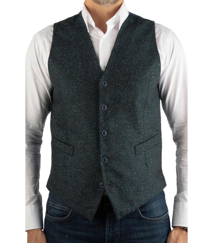 Vest wol  effen patroon image number 0