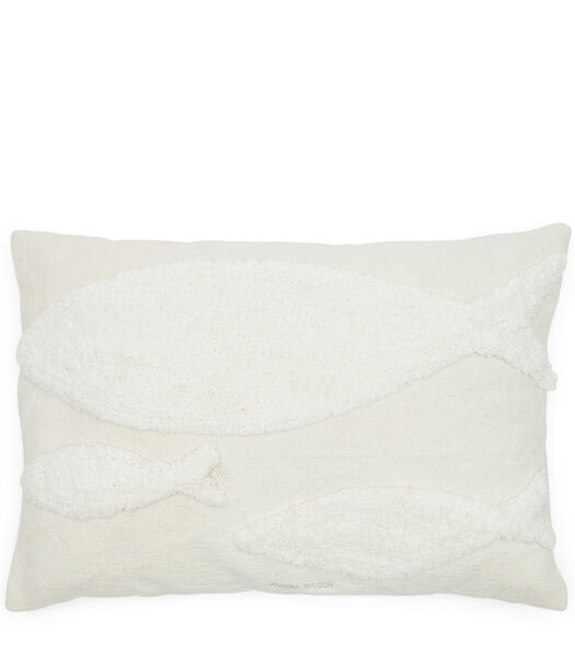 Fancy Fish Pillow Cover