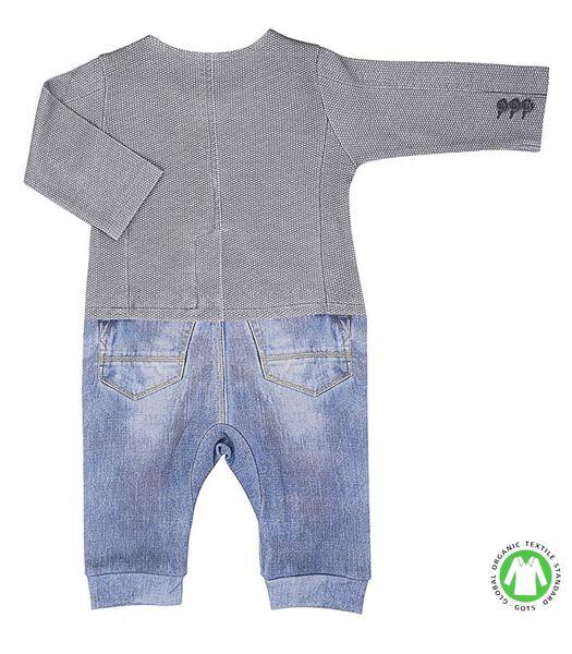 Pyjama voor babyjongens in biokatoen, LUCAS