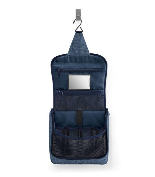 Toiletbag - Toilettas - Twist Blue Blauw