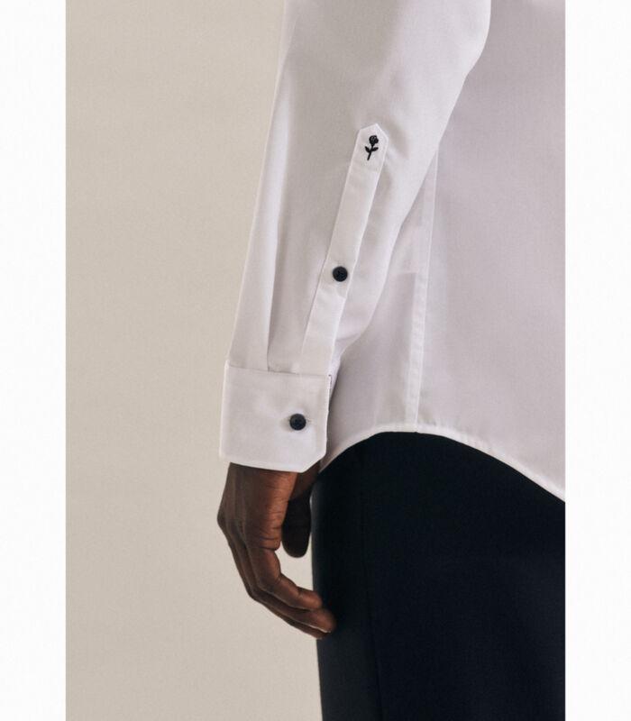 Overhemd Shaped Fit Lange arm Uni image number 3