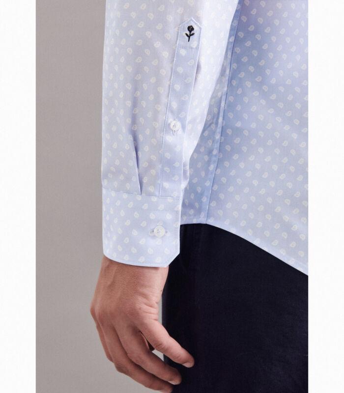 Overhemd Regular Fit Lange mouwen Print image number 2