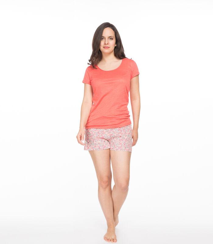 Linnen gebreid T-shirt, SARAH image number 2