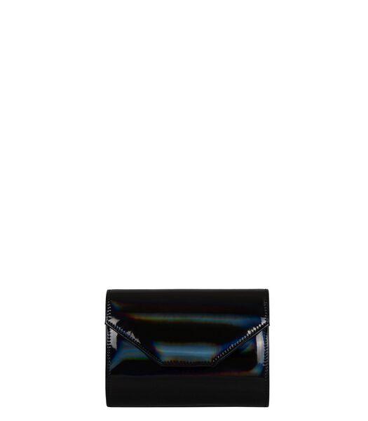 Clutch Rainbow - zwart