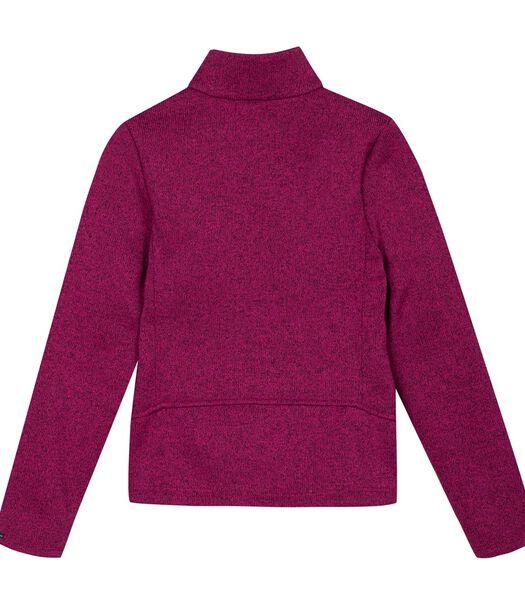 Gebreide sweatshirt met rits