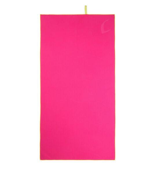 Set de serviettes 2 pièces microfibre rose
