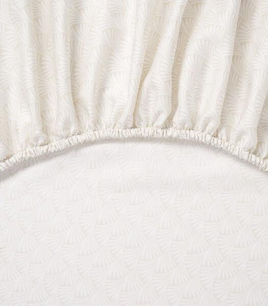 Dans le Vent - Drap housse Satin de coton 120 fils