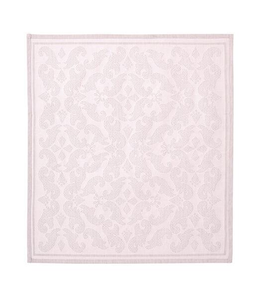 Tullia Poudre - Serviette de table Jacquard métis